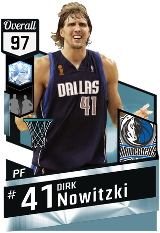 '06 Dirk Nowitzki diamond card
