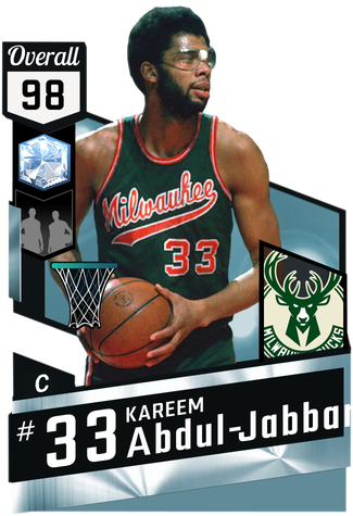 '71 Kareem Abdul-Jabbar diamond card