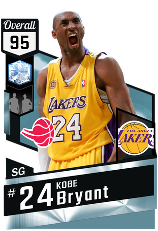 '01 Kobe Bryant diamond card