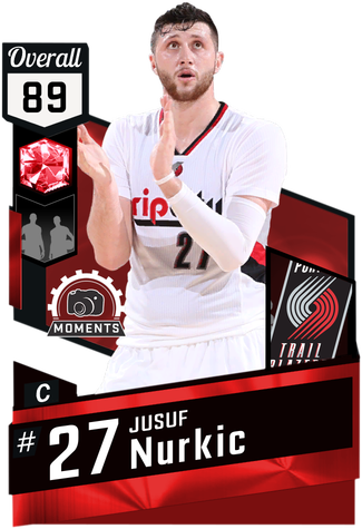 Jusuf Nurkic ruby card