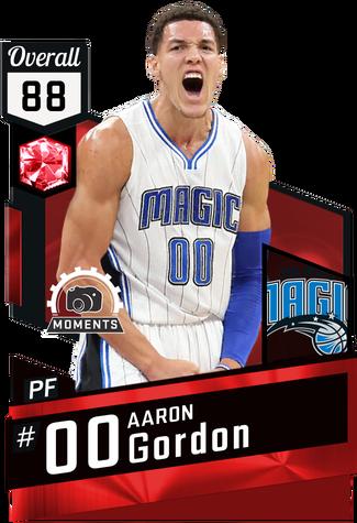 Aaron Gordon ruby card