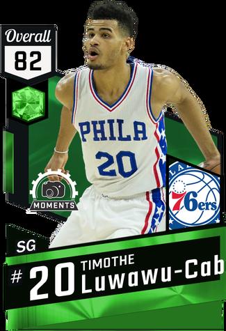 Timothe Luwawu-Cabarrot emerald card