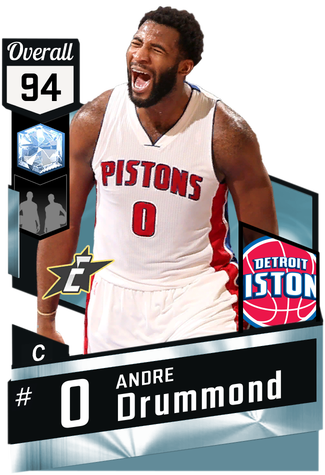 Andre Drummond diamond card