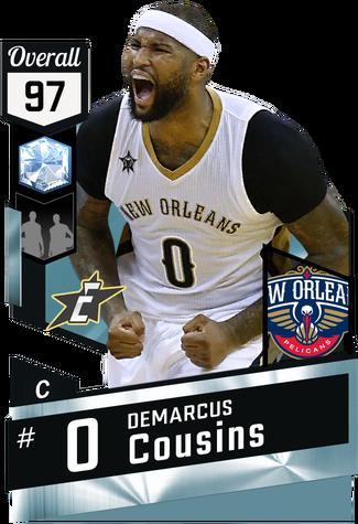 DeMarcus Cousins diamond card