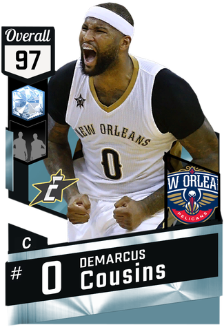 DeMarcus Cousins diamond card