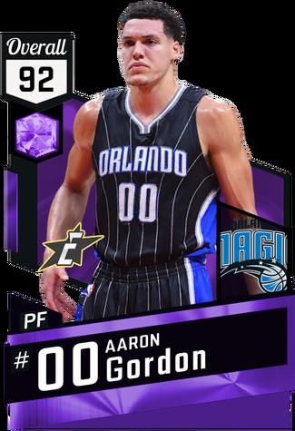 Aaron Gordon amethyst card