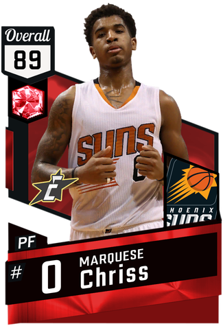 Marquese Chriss ruby card