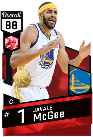Javale McGee ruby card