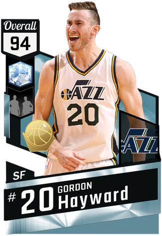 Gordon Hayward diamond card