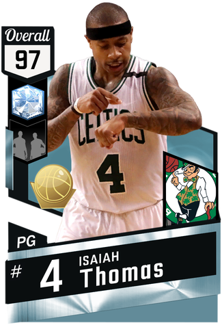 Isaiah Thomas diamond card