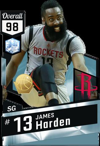 James Harden diamond card