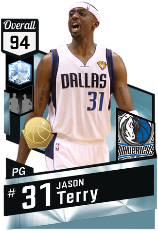 '11 Jason Terry diamond card