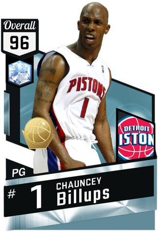 '04 Chauncey Billups diamond card