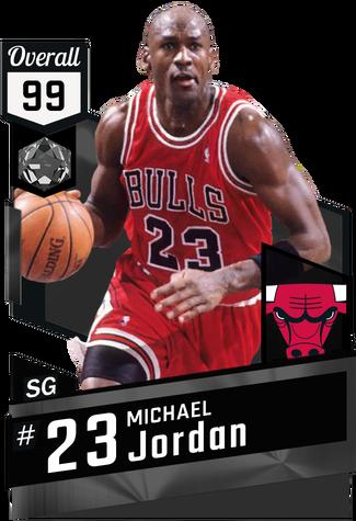 '96 Michael Jordan onyx card