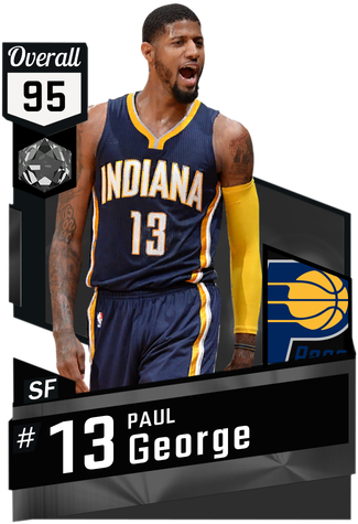 '15 Paul George onyx card