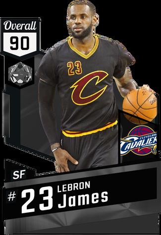 '15 LeBron James onyx card