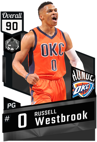 '15 Russell Westbrook onyx card
