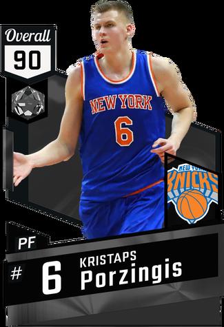 '15 Kristaps Porzingis onyx card