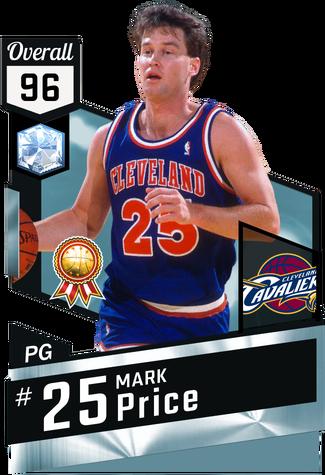 '90 Mark Price diamond card