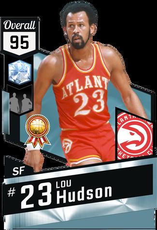 '71 Lou Hudson diamond card
