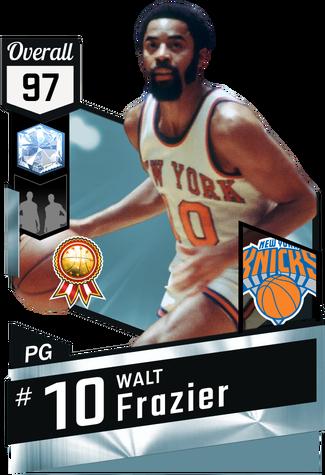 '75 Walt Frazier diamond card
