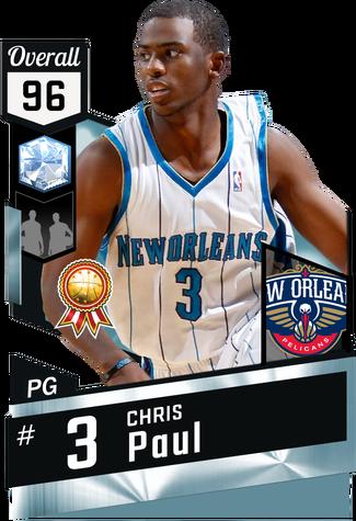 '08 Chris Paul diamond card