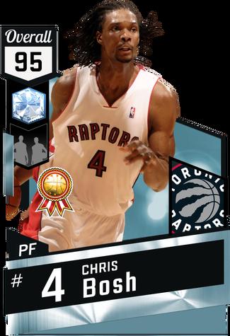 '10 Chris Bosh diamond card