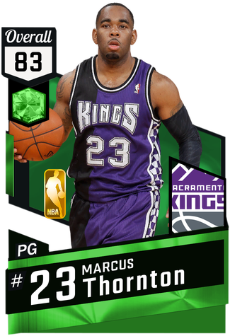 Marcus Thornton emerald card