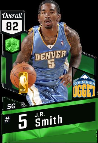 '09 J.R. Smith emerald card