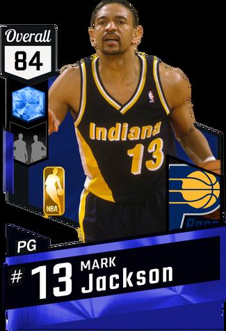 '89 Mark Jackson sapphire card