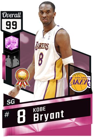 '08 Kobe Bryant pinkdiamond card