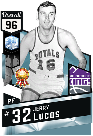 '72 Jerry Lucas diamond card