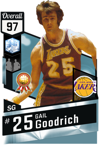 '71 Gail Goodrich diamond card
