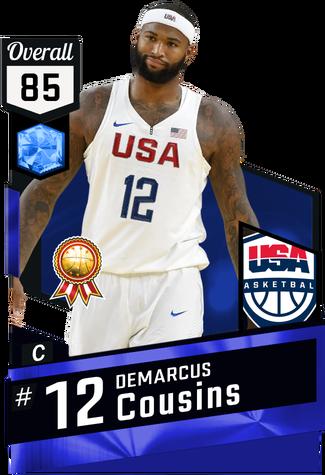 DeMarcus Cousins sapphire card