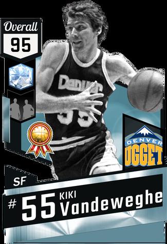 '84 Kiki Vandeweghe diamond card