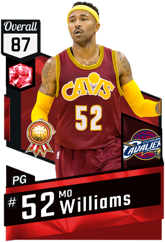'08 Mo Williams ruby card