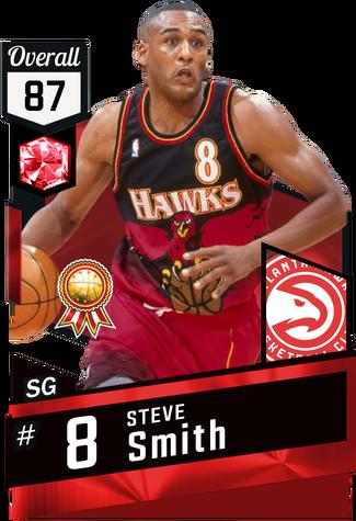 '00 Steve Smith ruby card