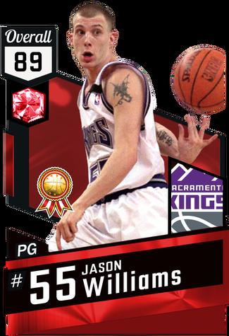 '00 Jason Williams ruby card