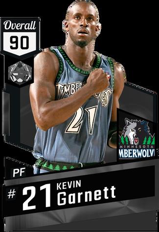 '04 Kevin Garnett onyx card