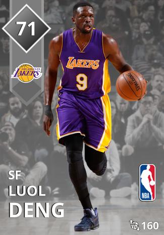 Luol Deng silver card