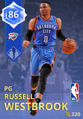 Russell Westbrook sapphire card