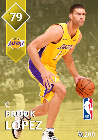 Brook Lopez gold card