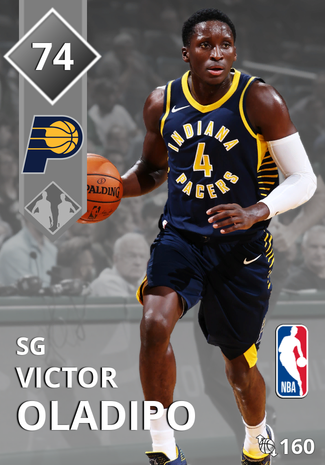 Victor Oladipo silver card