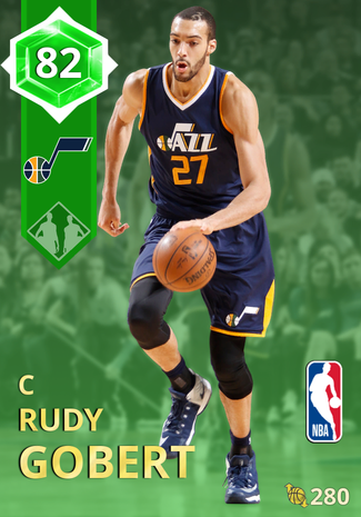 Rudy Gobert emerald card
