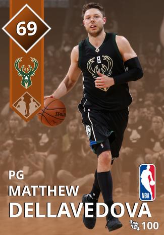 Matthew Dellavedova bronze card