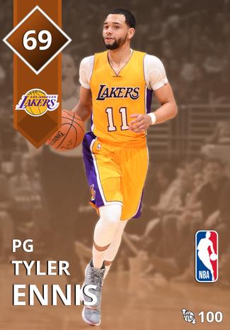 Tyler Ennis bronze card