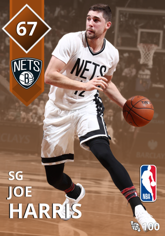 Joe Harris bronze card