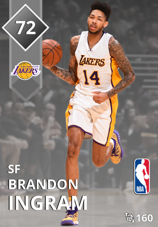 Brandon Ingram silver card