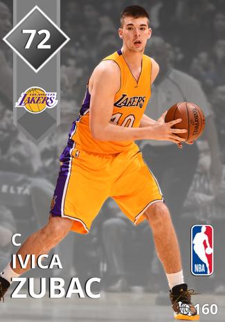 Ivica Zubac silver card