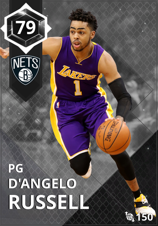 '21 D'Angelo Russell onyx card